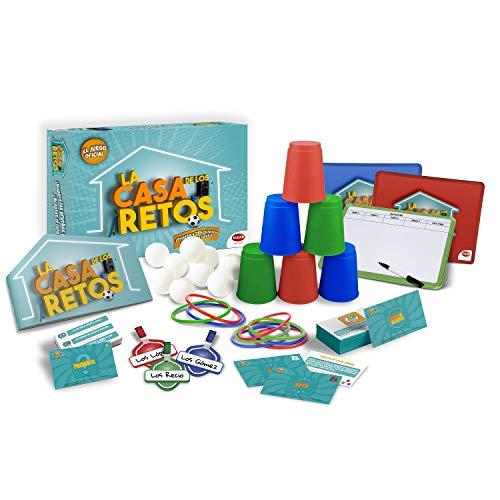 Bizak- Juegos La Casa de los Retos Juguete, Multicolor (35001923)