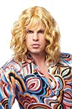 Franco American Novelty Company Franco Model Dude Men's 70's Blonde Wavy Wig One Size