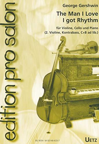 2 Stücke : für Violine, Violoncello und Klavier (Violine 2, Kontrabass, C- und B-Stimme ad lib) Stimmen