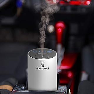 Scentcares Aromatherapy Diffuser,Car Aroma Diffuser,Car Oil Diffuser,Portable Waterless Oil Diffuser Essential Oils, Essen...