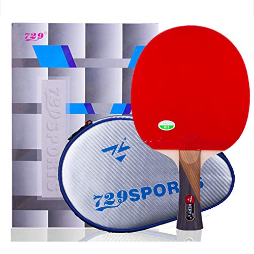 Great Features Of SSHHI Table Tennis Bats,5-Star,Home Ping Pong Paddle,Ideal for Families,Schools,Pl...