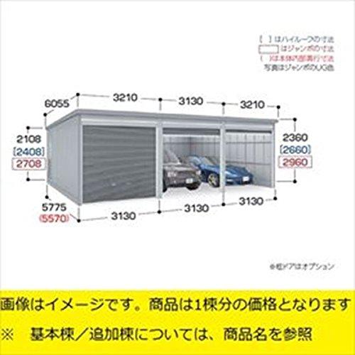 『配送は関東・東海限定』 イナバ物置 ガレーディア GRN-3157HL(基本棟) 一般型 『シャッター車庫 ガレージ』 アーバンGM