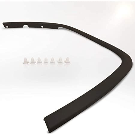 New Left Driver Side Wheel Opening Molding For 2011-2016 Jeep Grand Cherokee Made of ABS Fits Laredo And Limited Trims Made Of Abs Plastic CH1290106 1MP39RXFAE