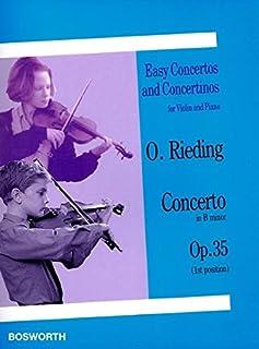 Oskar Rieding: Concerto in B Minor Op.35 (Violin/Piano)