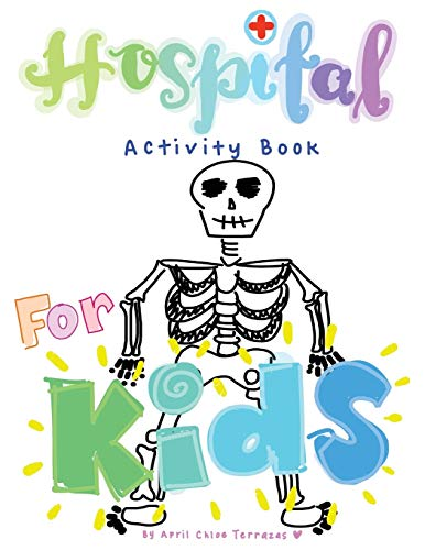 Hospital Activity Book For Kids