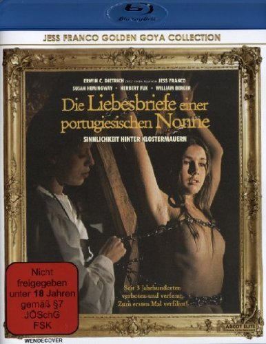 Love Letters Of The Portuguese Nun (1977) ( Die Liebesbriefe einer portugiesischen Nonne ) (Blu-Ray)