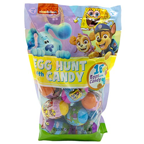 Frankford Candy Assorted Nickelodeon Character Plastic Eggs with...