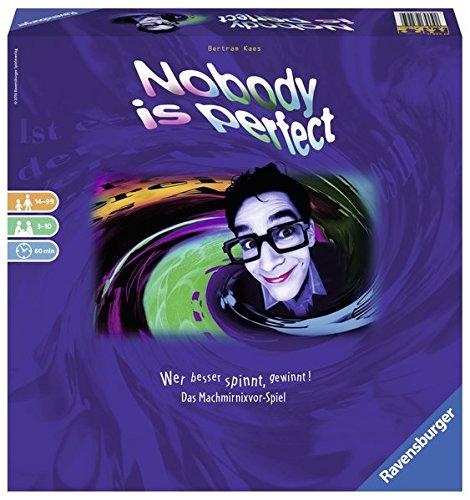 Nobody is Perfect: Wer Besser spinnt, gewinnt! Das Machmirnixvor-Spiel