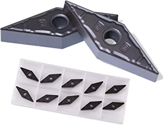Uncoated Carbide Corner Radius 0.025 THINBIT 3 Pack LGT060D5RCR025 0.060 Width 0.150 Depth Grooving Insert for Non-Ferrous Alloys Aluminium and Plastic Without Interrupted Cuts