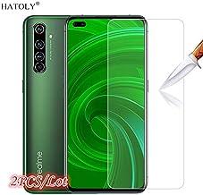 واقيات شاشة الهاتف من TOMMY-Phone - قطعتان من الزجاج المقاوم للكسر Realme X50 Pro 5G Realme X50 Pro واقي شاشة عالي الدقة زجاج واقي لهاتف Oppo Realme X50 Pro Realme X50 Pro 5G GTKL-4000783852558-001