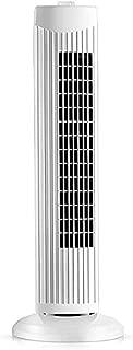 WYNZYYX Pedestal Fan Portable Tower Fan,Cooling Tower Fan 35W,71cm,60 °Oscillating, 3 Speed Oscillating Cooling Tower Fan for Home and Office,White