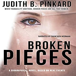 Broken Pieces                   By:                                                                                                                                 Judith B. Pinkard                               Narrated by:                                                                                                                                 Diane Box-Worman                      Length: 3 hrs and 23 mins     Not rated yet     Overall 0.0