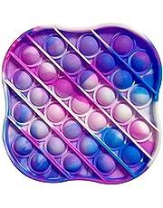 Push Bubble Fidget Toy, Sensory Fidget Toy, Knijp ZintuigleKe Speelgoed, Pop It Fidget Speelgoed, Extrusiebubble Fidget Sensorisch Speelgoed voor Kinderen en Volwassenen