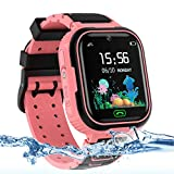 Product Image of the Kids Smart Watch Phone, LBS/GPS Tracker Waterproof Smartwatch for Boys Girls...