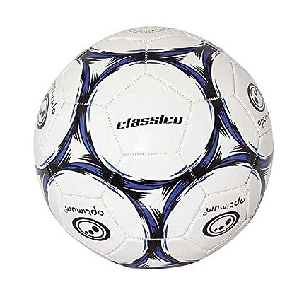 OPTIMUM Classico Balón de fútbol en Negro/Azul, Talla 4, Niños