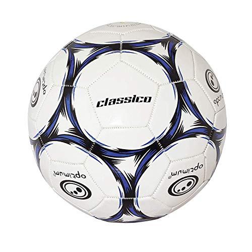 OPTIMUM Football Classico Herren-Fußball, Schwarz Blau, 5