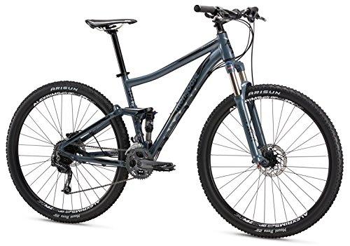 """Mongoose Salvo Comp 29"""" Wheel Mountain Bicycle, Slate, 16""""/Small"""