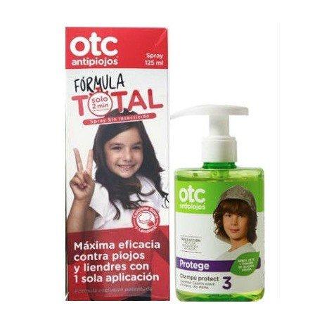Pack Champú Protect 300 ml + Spray Antipiojos sin insecticida