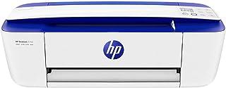 HP DeskJet 3760 - Impresora de tinta multifunción (8 ppm, 4800 x 1200 DPI, A4, Wifi, Escanea, Copia, 60 hojas, Modo silencioso), Azul eléctrico