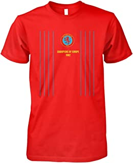 Vintage Aston Soccer Jersey Retro 1982 Villa Shirt Gift, Unisex Hoodie, Sweatshirt For Mens Womens Ladies Kids T Shirt.