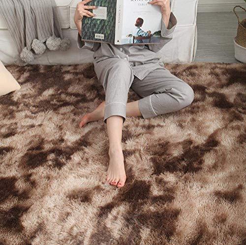 Teppich Wohnzimmer Schlafzimmer Matte Nordic minimalistisch Sofa Nachttisch Decke Couchtisch Seidenboden Teppich @ 50 x 80 cm _ F