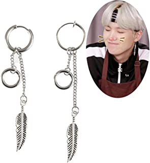 e7663432d5dc6 Amazon.com: bts suga earrings
