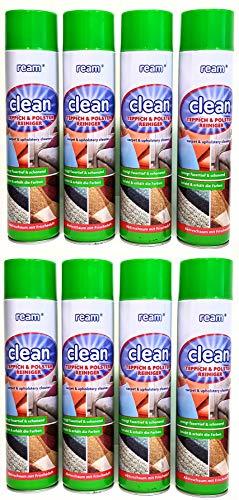 Clean Teppich & Polsterschaum 600ml ab 4 Stück Teppichreiniger Schaumreiniger