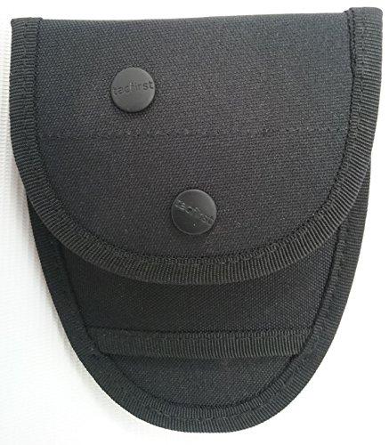 TacFirst Unisex - Holster voor volwassenen voor grote handboeien (Security, Politie, SEK, BKA, JUSTIZ), zwart, 1 SZ
