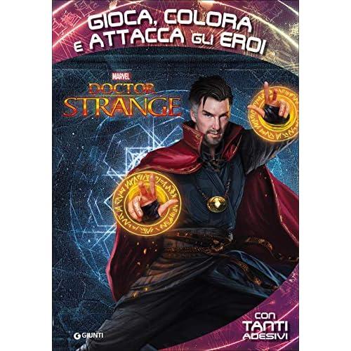 Doctor Strange. Gioca, colora attacca gli eroi. Con adesivi. Ediz. illustrata