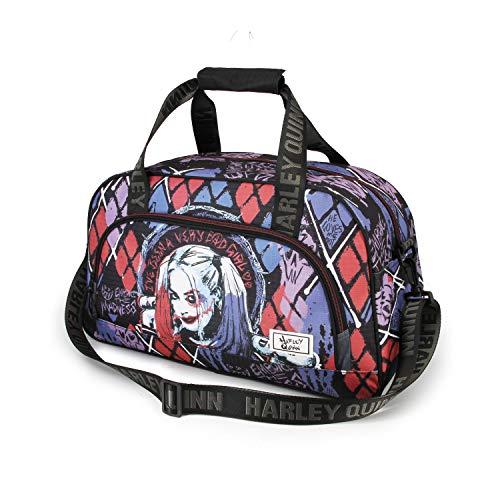 Karactermania Harley Quinn Crazy-Sac de Sport Pocket, Multicolour, One Size