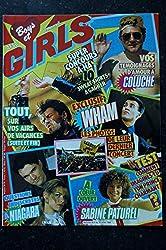 BOYS et GIRLS n° 341 * juillet 1986 * A-HA WHAM COLUCHE NIAGARA Sabine PATUREL