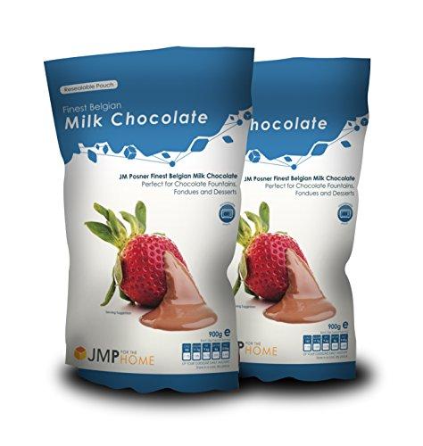 Buste del miglior cioccolato al latte belga 900g x 2