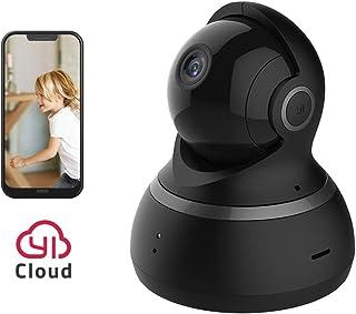 YI Dome Camera 1080p HD Wireless IP Security Surveillance Night Vision - Black US Edition
