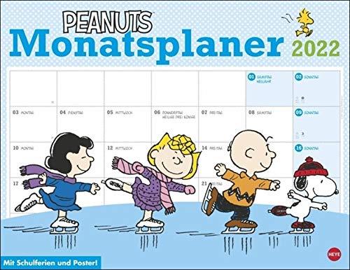 Peanuts Monatsplaner