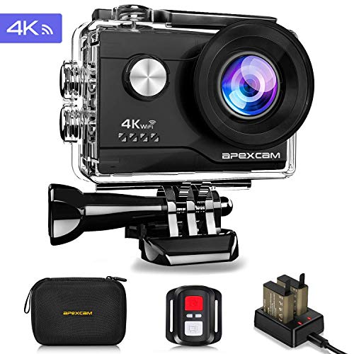 Navitech 8-in-1 Action Camera Accessories Combo Kit Compatible with The TEC.Bean 4K Action Camera