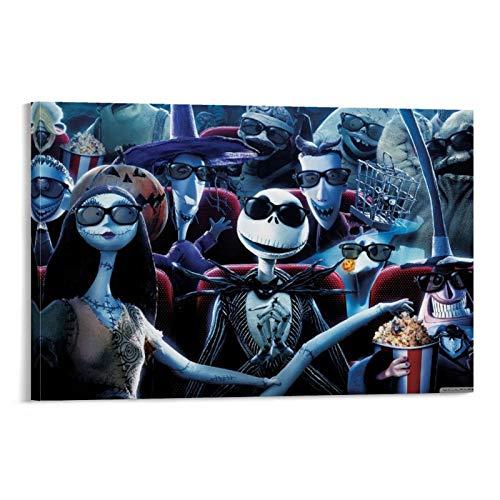 Póster de DRAGON VINES La pesadilla antes de Navidad fantasma impresión de pared para casas oficinas garajes tiendas 30 x 45 cm