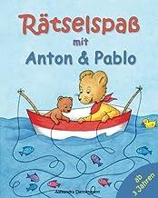 Rätselspaß mit Anton und Pablo. Rätseln, Suchen, Vergleichen und Zählen. (German Edition)