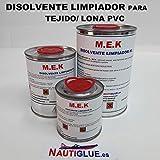 NAUTIGLUE MEK Disolvente Limpiador para Tejido de PVC (250 mililitros)