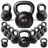 We R Sports Kettlebell in ghisa Esercizio Fitness (20 kg)