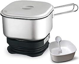 Levendige elektrische hete pot met roestvrijstalen gezonde binnenpan,kooknoedels en kookwater-eieren