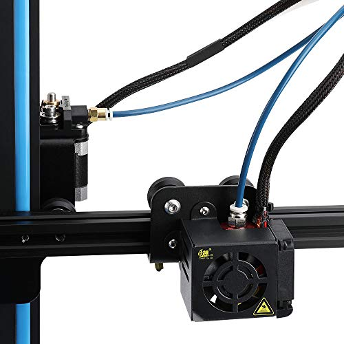 Ceality 1 Meter Capricorn XS Series PTFE Bowden Tubing Low Friction with 2PCS Large and Small Pneumatic Couplers for 1.75mm 3D Printer Filament