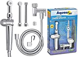 RinseWorks – Patented Aquaus 360 Diaper Sprayer - NSF Certified for Legal Installation - 3 Year Warranty – Dual Spray Pressure Controls – SafeSpray Valve Core, StayFlex Hose (ABS)