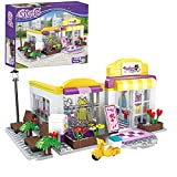 BRICK STORY Girls Friends Fashion Clothing Store Building Sets 263 PCS Shop House Building Kit Creative Shopping Role Play Building Toys Christmas Birthday Gift for Kids Aged 6-12.