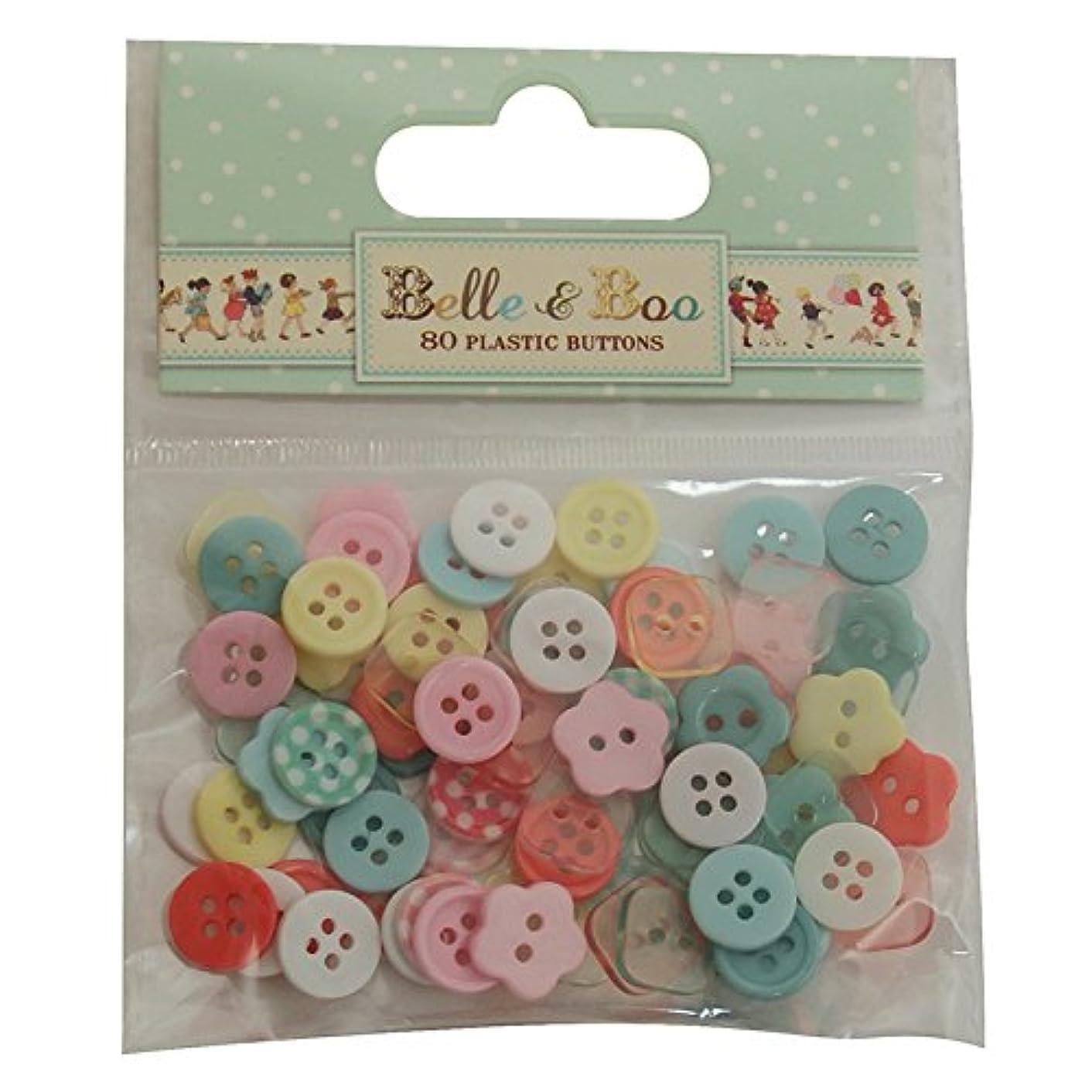 Trimcraft Belle & Boo Plastic Buttons