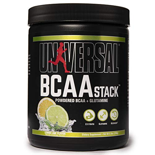 Universal Nutrition BCAA Stack Supplement, 250 g, Lemon Lime