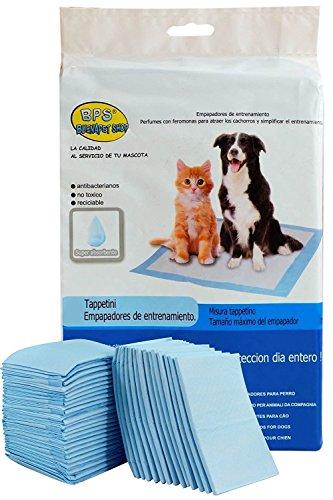 BPS® Empapadores de Entrenamiento para Perros Gatos Perfumes con Feromonas para Atraer los Cachorros y Simplificar el Entrenamiento (40pcs 60 * 60 cm) BPS-2167 * 2