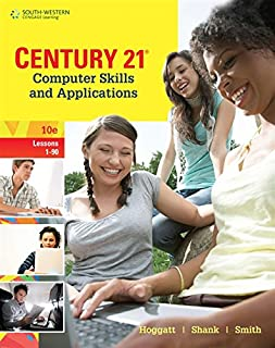 Century 21 Computer Skills and Applications, Lessons 1-90 (C