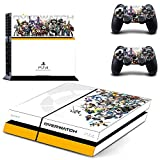 Homie Store PS4 Pro Skin - Ps4 Skins - Ps4 Slim Sticker - for Overwatch PS4 Skin Sticker Decal for Sony Playstation 4 Console and 2 Controllers PS4 Skin Sticker Vinyl