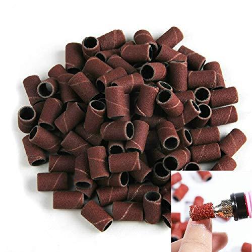 Santé & Beauté 100 PCS Nail Art Grinder électrique Accessoires Poncer Anneau Sable Tissu Anneau Broyage Anneau, Taille: 120# Soins des mains et pieds