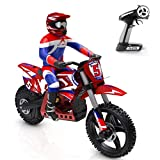 YBEST YIFAN Motorcycle Dirt Bike Model for Boys, 1/4 Scale 60KM/H Super Rider RC Motorcycle Dirt Bike - RTR Version US Plug